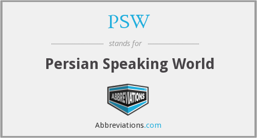 PSW - Persian Speaking World