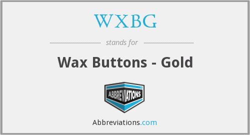 WXBG - Wax Buttons - Gold