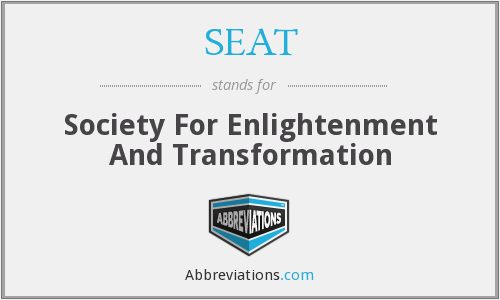 SEAT - Society For Enlightenment And Transformation