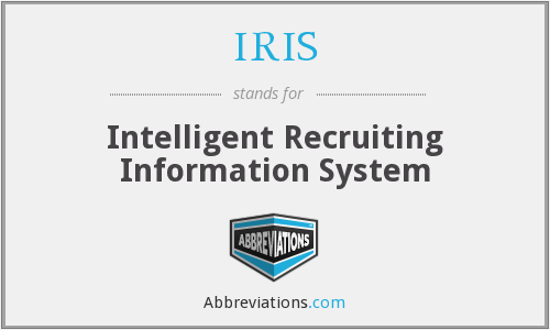 IRIS - Intelligent Recruiting Information System