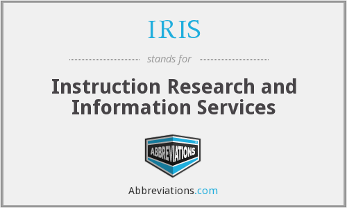 IRIS - Instruction Research and Information Services