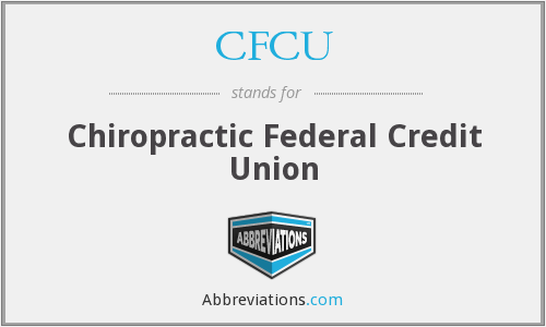 CFCU - Chiropractic Federal Credit Union
