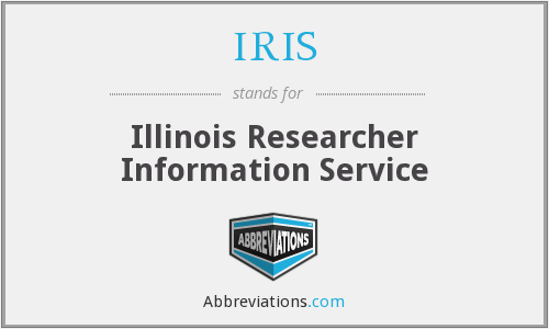 IRIS - Illinois Researcher Information Service
