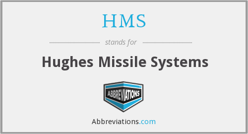HMS - Hughes Missile Systems