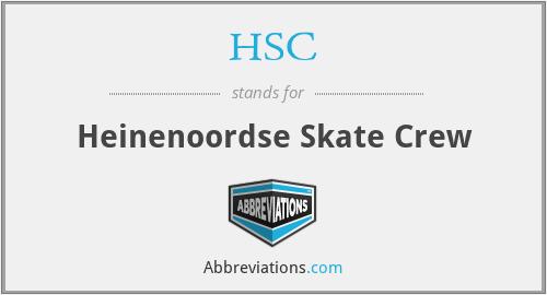 HSC - Heinenoordse Skate Crew