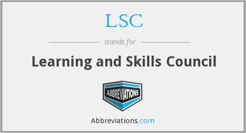 What does LSC stand for?