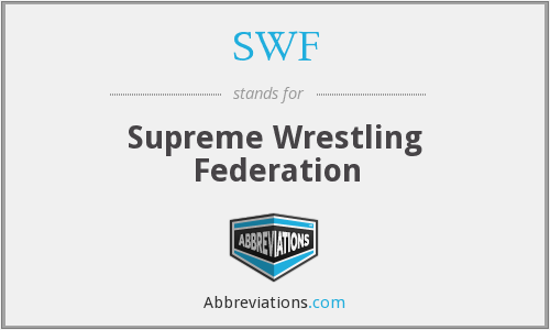 SWF - Supreme Wrestling Federation