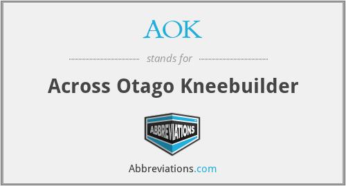 AOK - Across Otago Kneebuilder