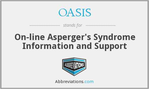 OASIS - On-line Asperger's Syndrome Information and Support