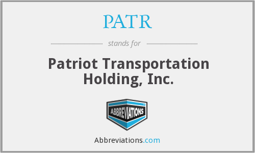 What does PATR stand for?