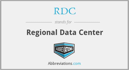 RDC - Regional Data Center
