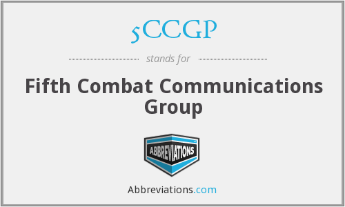 5CCGP - Fifth Combat Communications Group