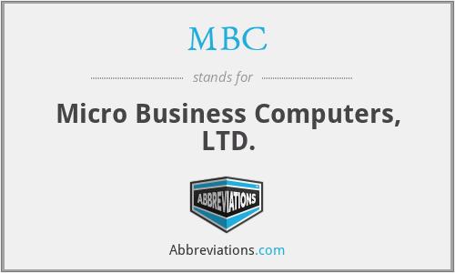 MBC - Micro Business Computers, LTD.