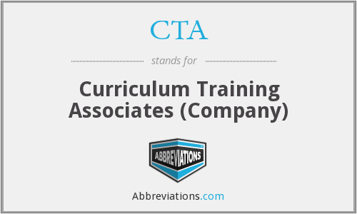 CTA - Curriculum Training Associates (Company)