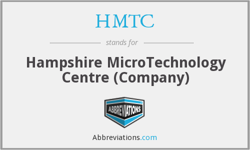 HMTC - Hampshire MicroTechnology Centre (Company)