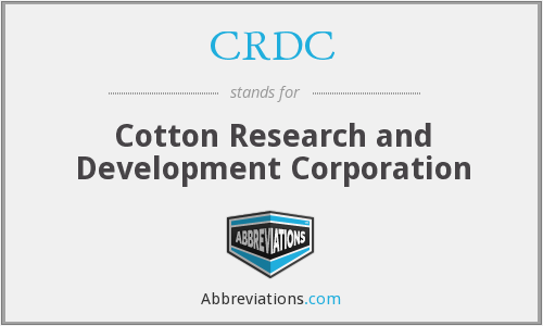 What does CRDC stand for?