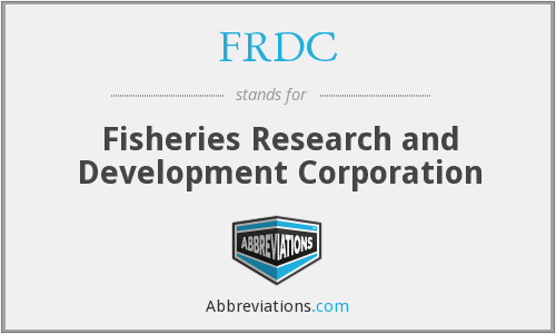What does FRDC stand for?