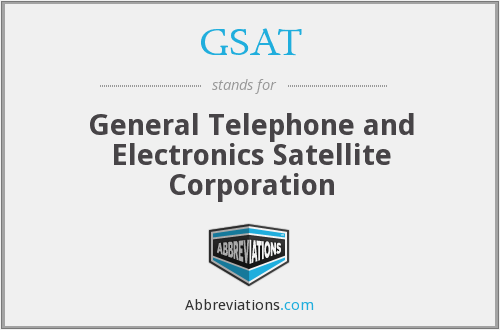 What does GSAT stand for?