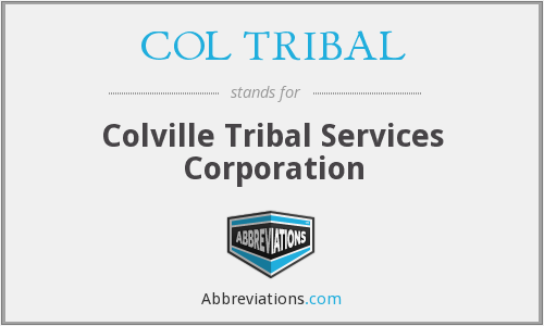 What does COL TRIBAL stand for?
