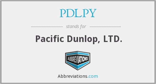What does PDLPY stand for?