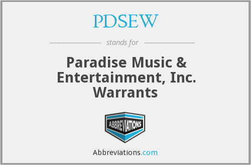 What does PDSEW stand for?