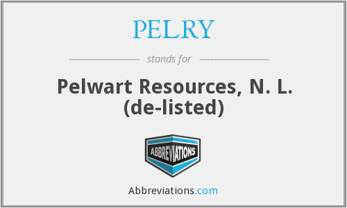 What does PELRY stand for?