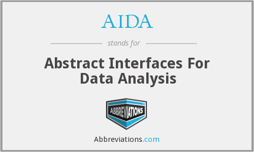 AIDA - Abstract Interfaces For Data Analysis