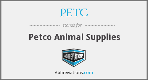 PETC - Petco Animal Supplies