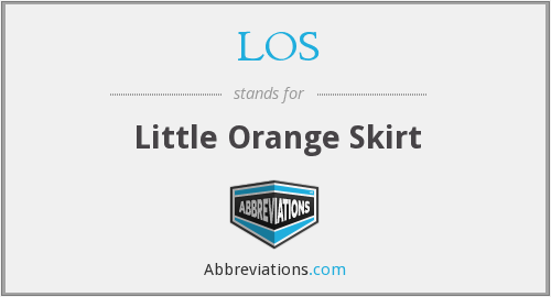 LOS - Little Orange Skirt