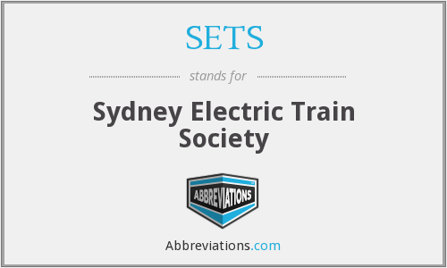 SETS - Sydney Electric Train Society