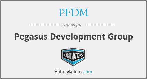 PFDM - Pegasus Development Group