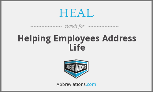 HEAL - Helping Employees Address Life