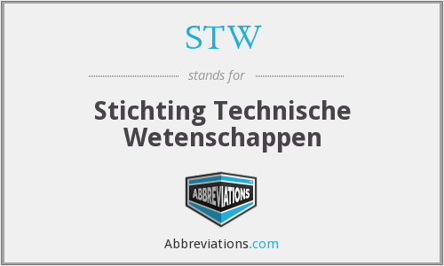 STW - Stichting Technische Wetenschappen