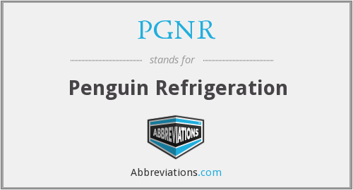 What does PGNR stand for?