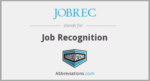 JOBREC - Job Recognition