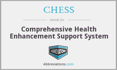 CHESS - Comprehensive Health Enhancement Support System