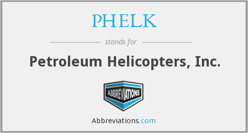 What does PHELK stand for?