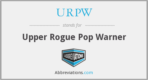 URPW - Upper Rogue Pop Warner