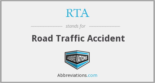 RTA - Road Traffic Accident