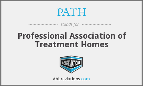 PATH - Professional Association of Treatment Homes