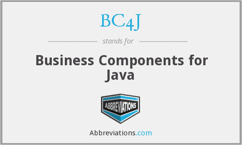 What does BC4J stand for?