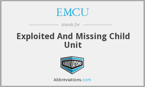 EMCU - Exploited And Missing Child Unit