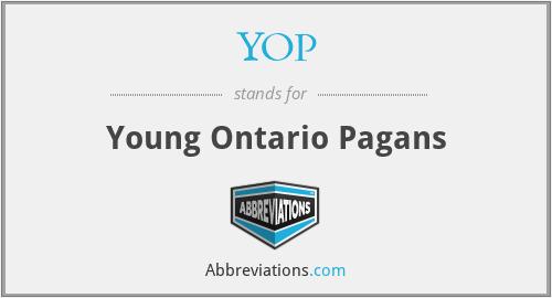 YOP - Young Ontario Pagans