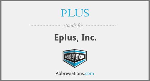 PLUS - Eplus, Inc.