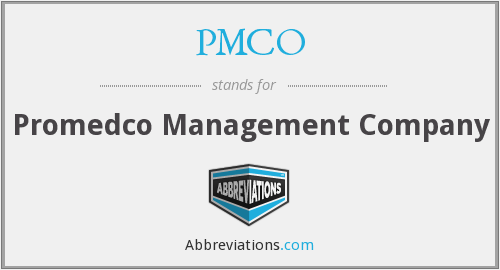 What does PMCO stand for?
