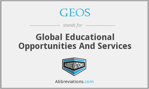 GEOS - Global Educational Opportunities And Services