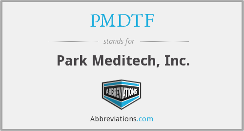 What does PMDTF stand for?