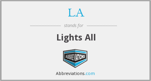 LA - Lights All