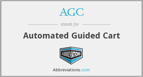 AGC - Automated Guided Cart