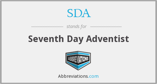 SDA - Seventh Day Adventist